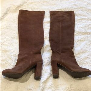 Over the Knee Suede Leather boots